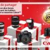 Faites des économies sur l'achat de vos produits Canon jusqu'à fin décembre