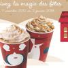 Noël : Starbucks lance ses nouvelles boissons, mugs et tumblers