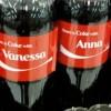 Coca-Cola : une bouteille ou canette à votre prénom