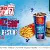 McDonald's lance le jeu Mystery Cup avec de l'argent à gagner