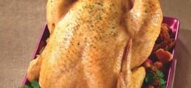 Recette Noël 2013 : Poularde rôtie aux morilles et aux girolles