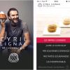 Cyril Lignac dévoile ses recettes de desserts dans une application