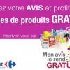 Monavislerendgratuit.com : testez gratuitement des produits chez Carrefour