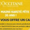 L'occitane : 3 crèmes pour les mains offertes pour les fans Facebook