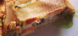 Quiche à la truite et à la courgette : la recette légère et estivale