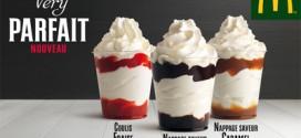 McDonald's : la glace Very Parfait débarque (prix, calories, date…)
