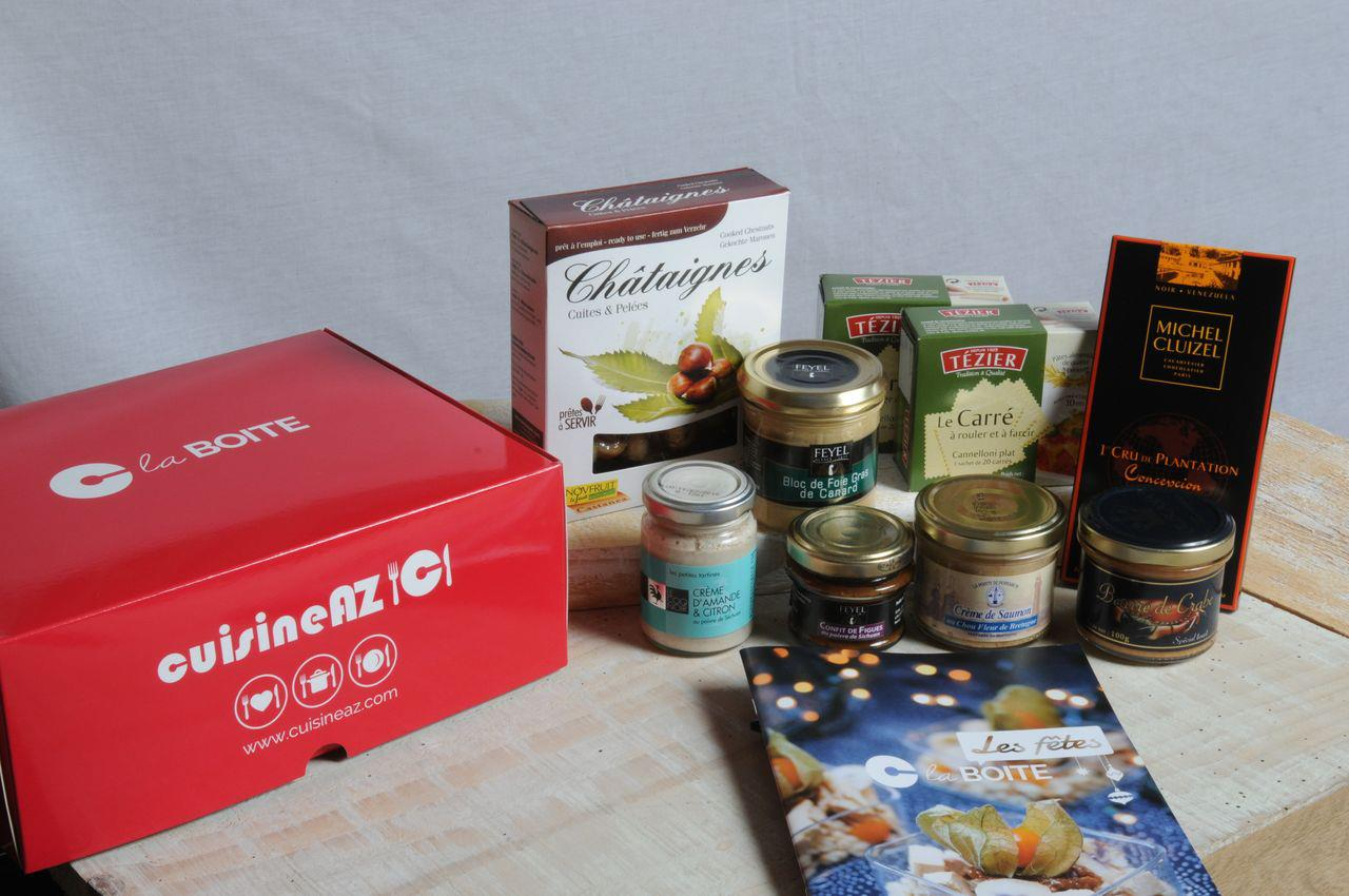 C la boite : la box culinaire de Cuisine AZ de Décembre