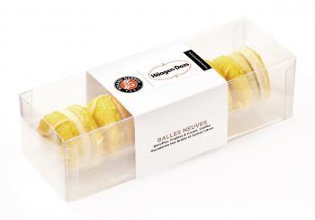 Häagen Dazs macarons roland garros