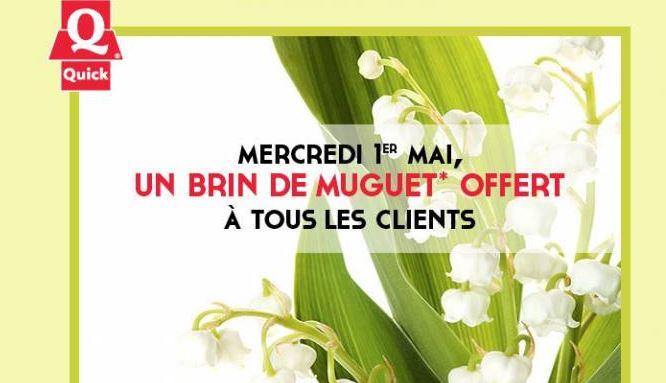 Quick : du muguet pour le 1er mai