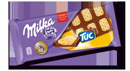 milka tuc chocolat