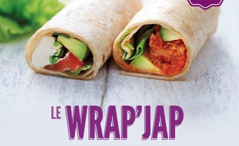 Wrap Jap eat sushis