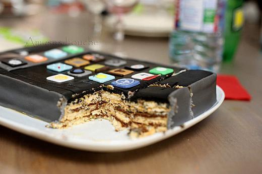 gateau iphone 6 apple