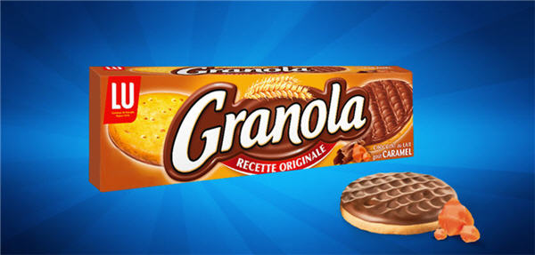 granola caramel