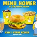 menu homer simpson quick