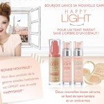 Nouvelle gammeBourjois Happy Light
