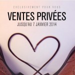 Ventes privées Soldes hiver 2013-2014