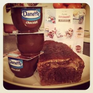 Cake marbré danette