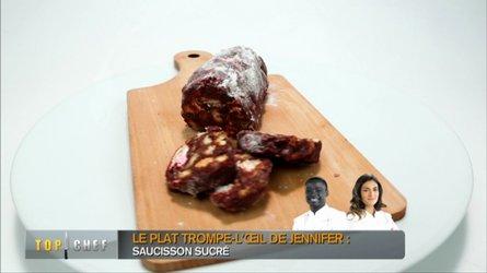 saucisson chocolat recette