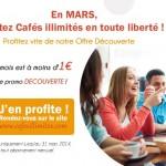 Des cafés gratuits sur Paris avec Cafés illimités