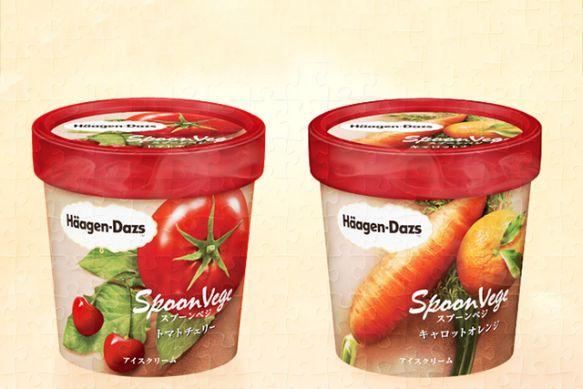 Häagen-Dazs légumes