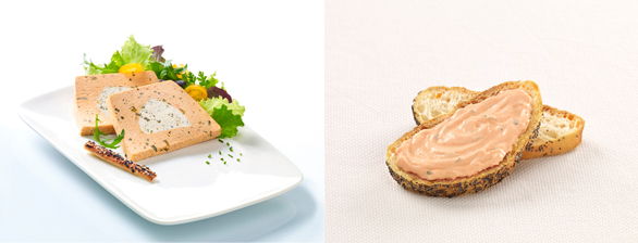 Tartinables et Terrines Poissons/fromages - Guyader