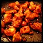 Recette de poulet caramélisé au miel et à la sauce soja