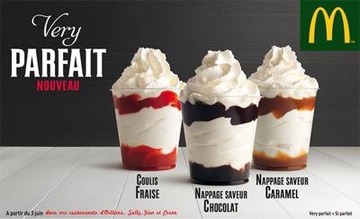 very parfait glace macdo